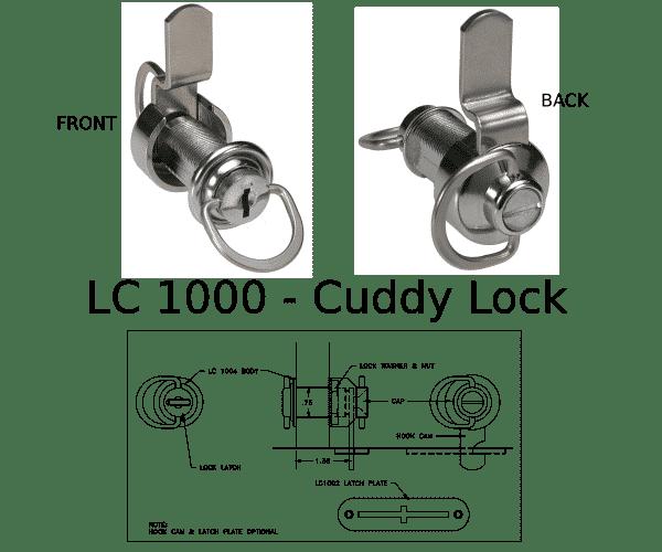 LC 1000 boat lock marine hardware