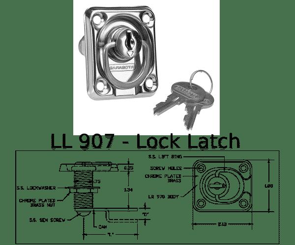 LL 907 Marine Hardware