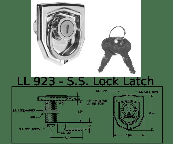 LL 923 Marine Hardware