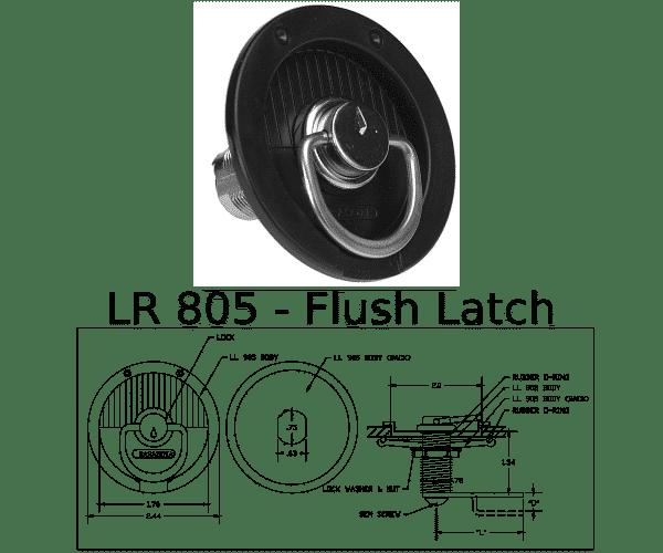 LR 805 Marine Hardware