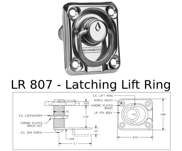 LR 807 Marine Hardware