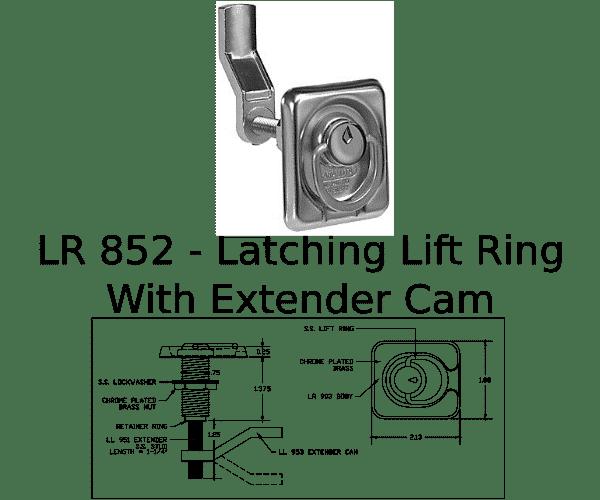 LR 852 Marine Hardware