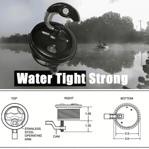 SL 1000SS – Top Strength, Watertight Lock Latch