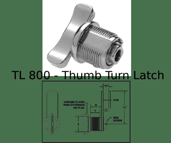 TL 800 Marine Hardware