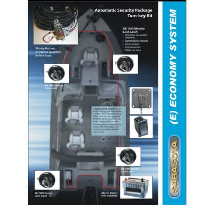 Key Captain Economy System marine hardware lock latch