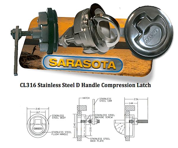 CL316SSCpmpressionLatch